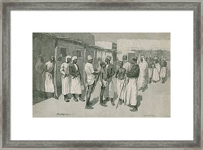 African Slave Trade Continued Framed Print