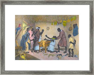 Afro-caribbeans Engaging Framed Print by Everett