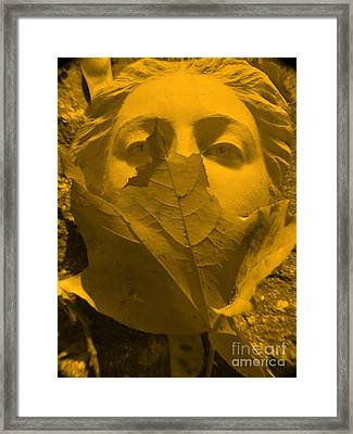 Afrodita  Autum Framed Print