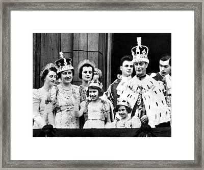 After Coronation Ceremonies, The Royal Framed Print by Everett