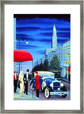 After Dark Framed Print by Tracy Dennison