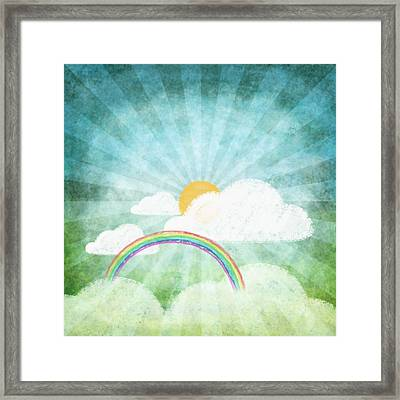 After Rainy Framed Print by Setsiri Silapasuwanchai