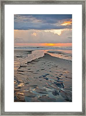 After Storm Sunset Framed Print by Anthony Doudt