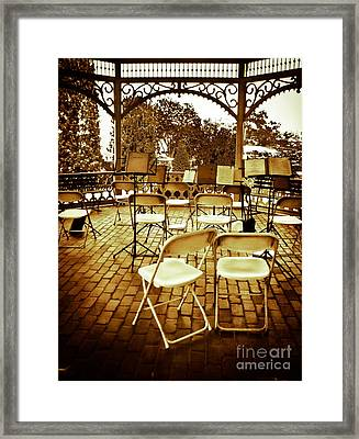 After The Band Framed Print by Colleen Kammerer