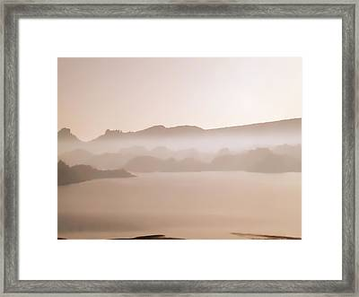 Framed Print featuring the photograph After The Fire by James Bethanis