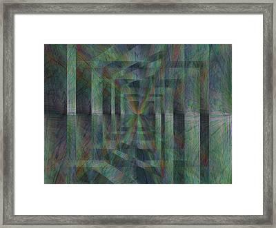After The Rain 10 Framed Print by Tim Allen