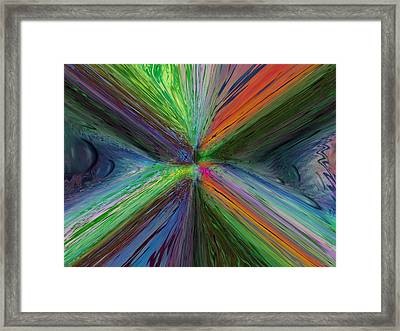 After The Rain 8 Framed Print by Tim Allen