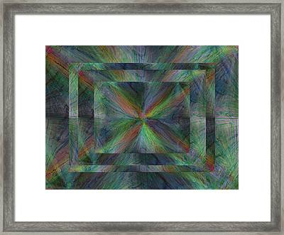 After The Rain 9 Framed Print by Tim Allen