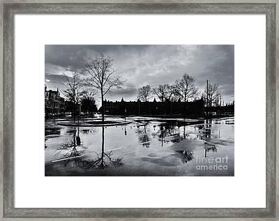 Den Haag After The Rain Framed Print
