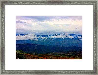 After The Rain Framed Print by Darvina Ventura