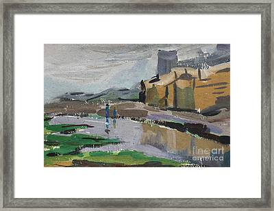 After The Rain Framed Print by Sherry Chen