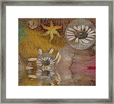 After The Rain Under The Star Framed Print by Pepita Selles