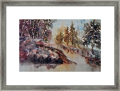 After The Rains Framed Print by Carolyn Rosenberger