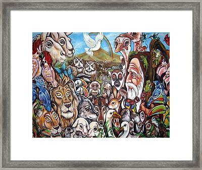 After The Rains Framed Print by Rafael Cruzpagan