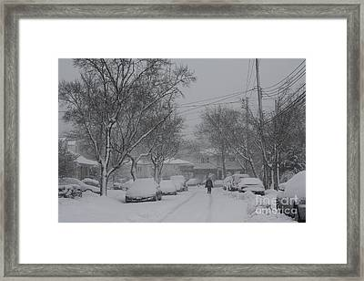 Framed Print featuring the photograph After The Storm by Dora Sofia Caputo Photographic Art and Design