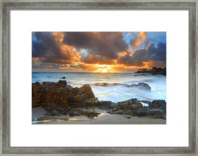 After The Storm Framed Print by Dung Ma