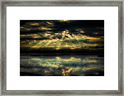After The Storm Framed Print by Gary Smith