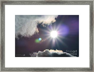 After The Storm Framed Print by J McCombie