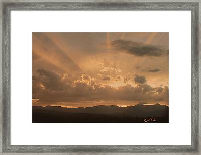 After The Storm Framed Print by John Selmer Sr