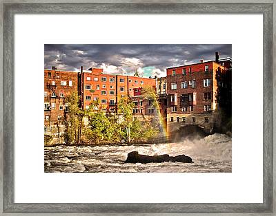 After The Storm ... Framed Print
