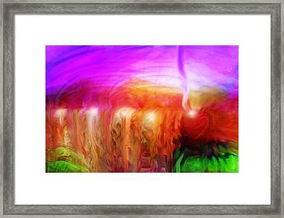 After The Storm Framed Print by Linda Sannuti