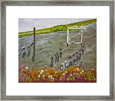 After The Storm Framed Print by Nicole  Dorignac
