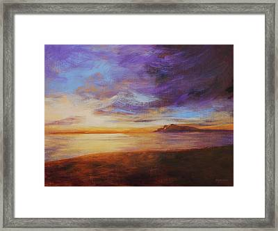After The Storm Framed Print by Peggy Wrobleski