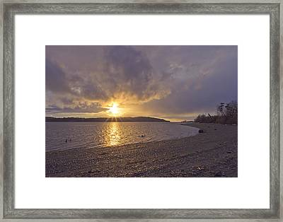 After The Storm Framed Print by Priya Ghose