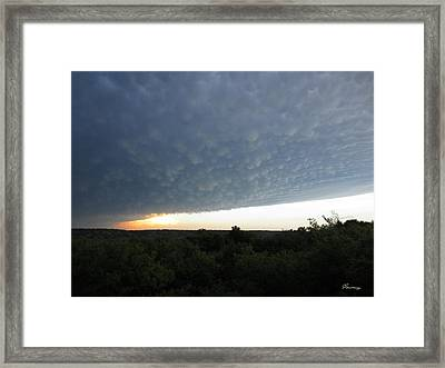 After The Tornado Framed Print by Andrea Lawrence