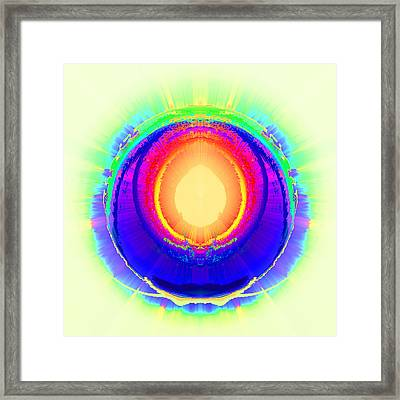 Afterburner Framed Print