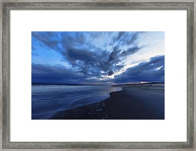 Afterglow On Fire Island Framed Print by Rick Berk