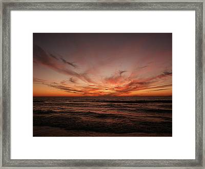 Framed Print featuring the photograph Aftermath by Bill Lucas