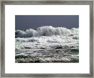Aftermath Of A Storm Iv Framed Print