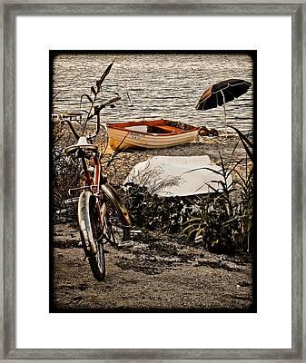 Hanioti, Greece - Afternoon At The Beach Framed Print