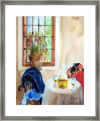 Afternoon Delight Framed Print by Leonardo Ruggieri