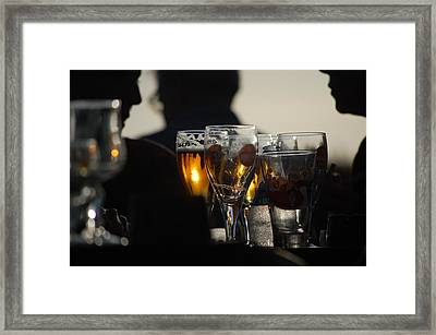 Afternoon Drinks Framed Print by Dickon Thompson