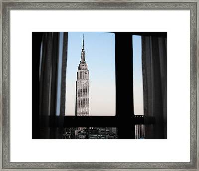 Afternoon Empire Framed Print by Jeff Mueller