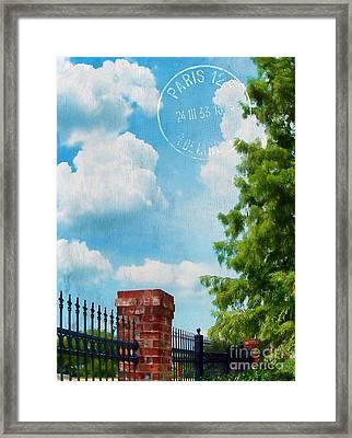 Afternoon In Paris Framed Print by Judi Bagwell