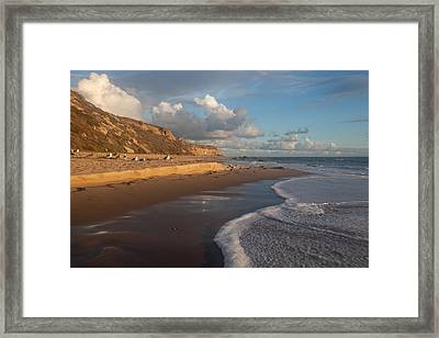 Afternoon Light  Crystal Cove State Beach Framed Print by Cliff Wassmann