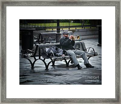 Afternoon Music Framed Print by Perry Webster