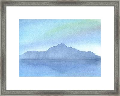 Afternoon On The Water Framed Print by Hakon Soreide