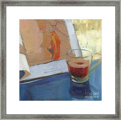 Afternoon Tea Time No.10 Framed Print by Ni Zhu
