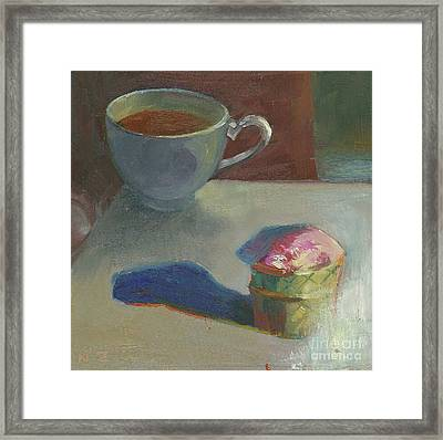 Afternoon Tea Time No.5 Framed Print by Ni Zhu