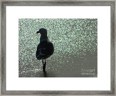 Framed Print featuring the photograph Afternoon Walk by Everette McMahan jr