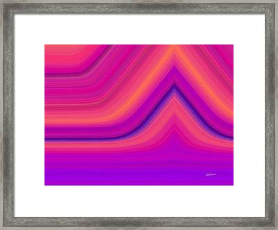 Aftershock Framed Print