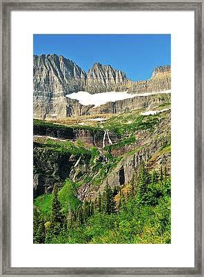 Against The Wall Framed Print by Greg Norrell