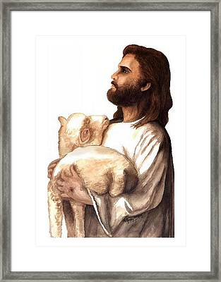 Agapao Framed Print by Roberta Roddy