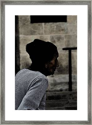 Age Framed Print by Peter  McIntosh