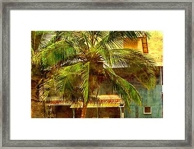 Aged Hawaiian Framed Print by Paulette B Wright