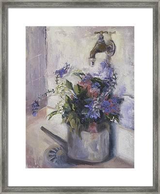 Agnes Floral Framed Print